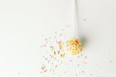 De heerlijke cake knalt Stock Foto
