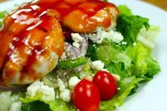 De heerlijke gezonde maaltijd sluit u Royalty-vrije Stock Fotografie