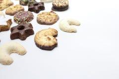 De heerlijke koekjes van Kerstmis royalty-vrije stock foto's
