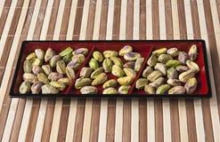 De heerlijke pitten van pistachenoten royalty-vrije stock afbeeldingen