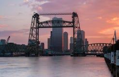 De Hef à Rotterdam Photo libre de droits