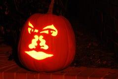 De hefboom-o-Lantaarn van Halloween Pompoen Royalty-vrije Stock Afbeeldingen