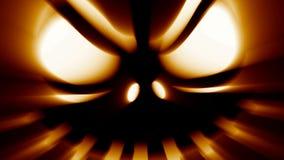 De hefboom-o-lantaarn van verschrikkingshalloween kwaad griezelig eng gezicht royalty-vrije illustratie