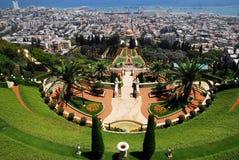 De heiligdommen Bahai in Haifa Royalty-vrije Stock Afbeelding