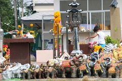 De heiligdommenprovincie van Brahmasingh Royalty-vrije Stock Foto's