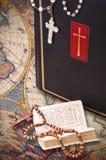 De heilige Bijbel stock afbeeldingen
