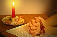 De heilige Bijbel royalty-vrije stock foto's