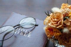 De heilige Bijbel Royalty-vrije Stock Fotografie