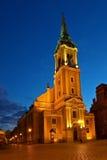 De Heilige Geest van de kerk in Torun Royalty-vrije Stock Fotografie