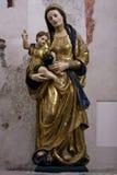 De heilige holding Jesus van Mary Royalty-vrije Stock Afbeelding