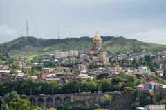 De heilige Kathedraal van de Drievuldigheid Stock Foto