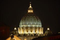 De heilige Peter Basilica royalty-vrije stock afbeeldingen
