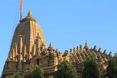 De Heilige Stad Haridwar op de Ganges royalty-vrije stock afbeelding