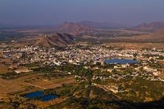 De Heilige Stad van Pushkar, Rajasthan India Royalty-vrije Stock Foto's