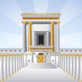 De heilige tempel stock afbeeldingen