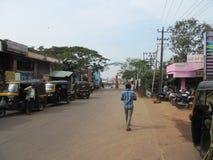 De heilige tempelstad Udupi stock foto's