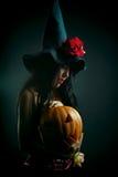 De heks van de bloem Stock Fotografie