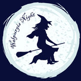 De heks van de Walpurgisnacht Royalty-vrije Stock Foto