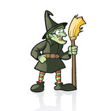 De Heks van Halloween Royalty-vrije Stock Foto's