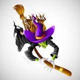 De Heks van Halloween Royalty-vrije Stock Afbeelding