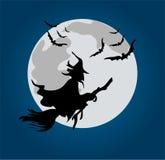 De heks van Halloween stock illustratie