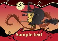 De heks van Halloween Royalty-vrije Stock Foto