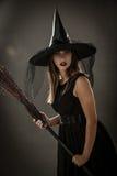 De heks van Halloween Royalty-vrije Stock Fotografie