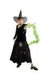 De heks van Helloween Royalty-vrije Stock Afbeeldingen