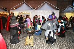 De heksen dansen Royalty-vrije Stock Foto's