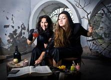 De heksen toveren Stock Afbeelding