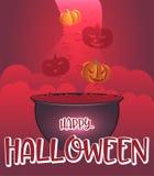 De heksenketel van Halloween Royalty-vrije Stock Fotografie