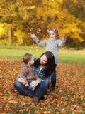 De heksenkinderen van de moeder Stock Foto's