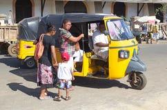 De hel Bemoeizieke Ville, is, Madagascar Stock Afbeelding