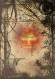De hel van Grunge vector illustratie