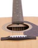 De held van de gitaar royalty-vrije stock fotografie