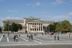 De Heldenvierkant van Boedapest Royalty-vrije Stock Foto's