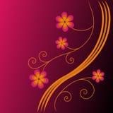 De heldere bloemenachtergrond. Royalty-vrije Stock Foto