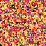 De Heldere Gekleurde Abstracte Achtergrond van Tessellating Stock Afbeeldingen