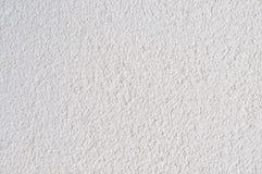 De heldere Grey Beige Plastered Wall Stucco-Textuur detailleerde het Natuurlijke Concrete Pleister van Gray Coarse Textured Backg Stock Fotografie