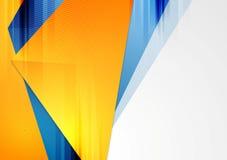 De heldere kleurrijke vectorachtergrond van technologie Stock Afbeeldingen