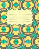 De heldere multicolored dekking van het schoolnotitieboekje Royalty-vrije Stock Foto