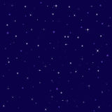 De heldere sterren van Nice in de nachthemel Royalty-vrije Stock Afbeelding
