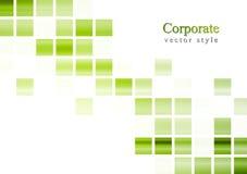 De heldergroene vectorachtergrond van technologie Royalty-vrije Stock Afbeelding
