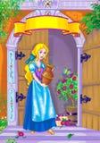 De heldin van het sprookje Stock Afbeeldingen