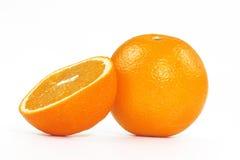De helft het oranje rusten Royalty-vrije Stock Foto's