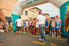 De helft-marathon van Fuerteventura Royalty-vrije Stock Afbeeldingen