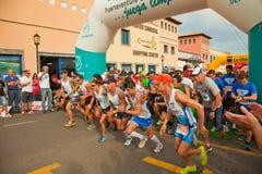 De helft-marathon van Fuerteventura Stock Foto's