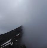 De helft van bergketen Stock Fotografie