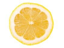 De helft van citroen Stock Afbeelding