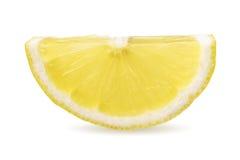 De helft van citroenplak Stock Foto's